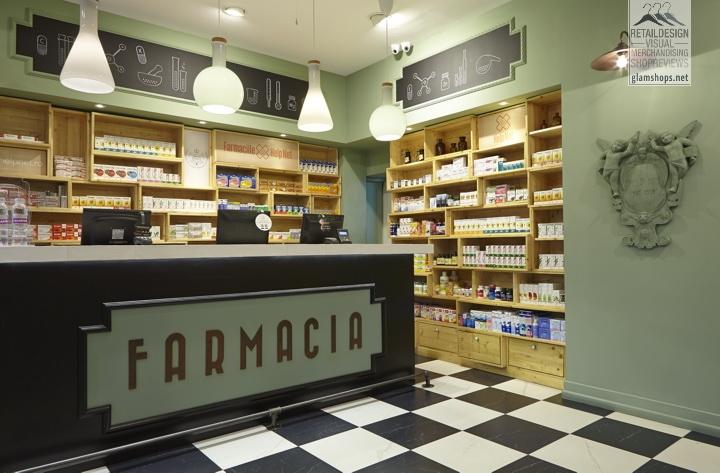 » Farmacia Concept Store by Omid Ghannadi, Bucharest – Romania