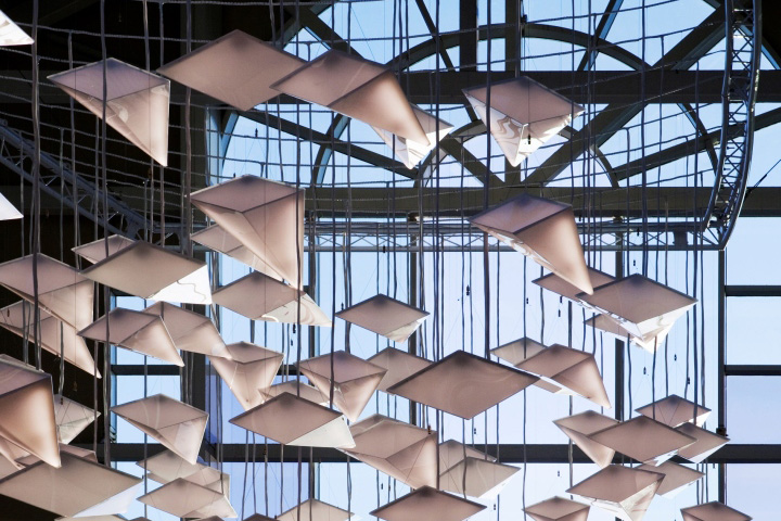 Flock Of Birds Lighting Design Concept By Paul Nulty Lighting Design Re