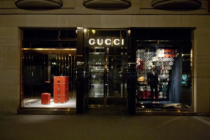 Gucci Windows 2015 Spring Paris France 187 Retail Design Blog