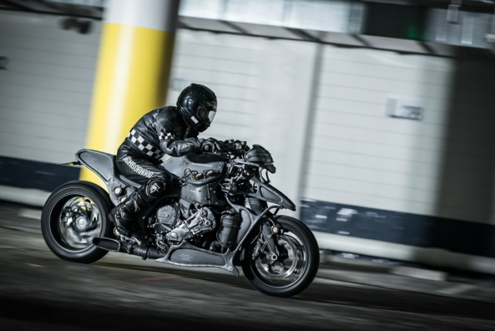 Ignite Straight Six Customized K1600 Gtl Motorcycle By