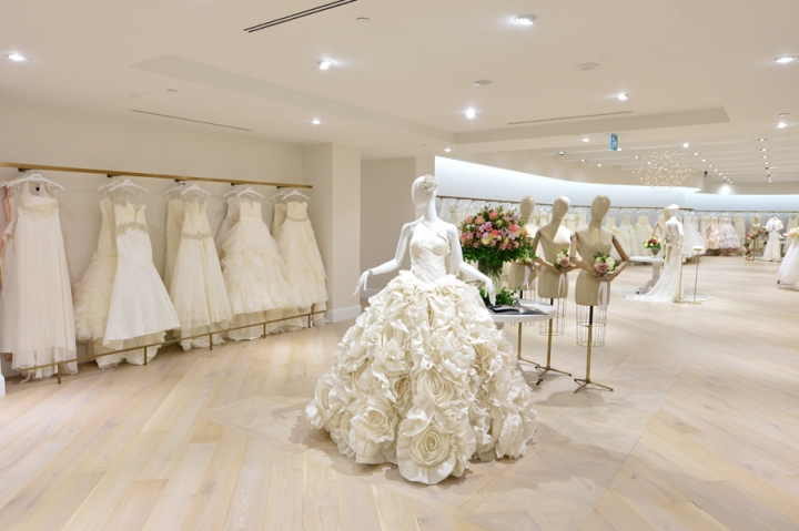 187 Kleinfeld Bridal Store By Hbc Store Planning At Hudson S