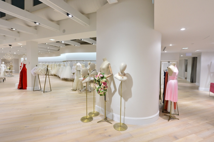 Wedding Dress Warehouse   Toronto : Kleinfeld hudson s bay store by hbc planning toronto