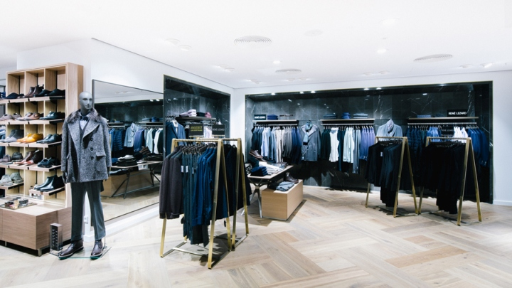 ludwig beck menswear store by schwitzke munich germany retail design blog. Black Bedroom Furniture Sets. Home Design Ideas