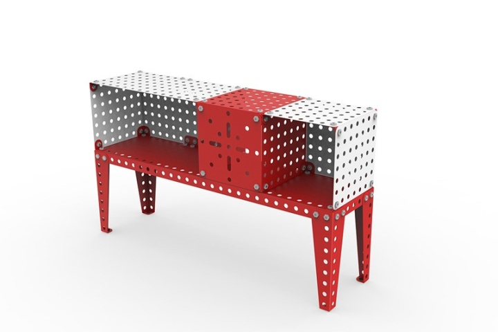 meccano home collection by meccano retail design blog. Black Bedroom Furniture Sets. Home Design Ideas