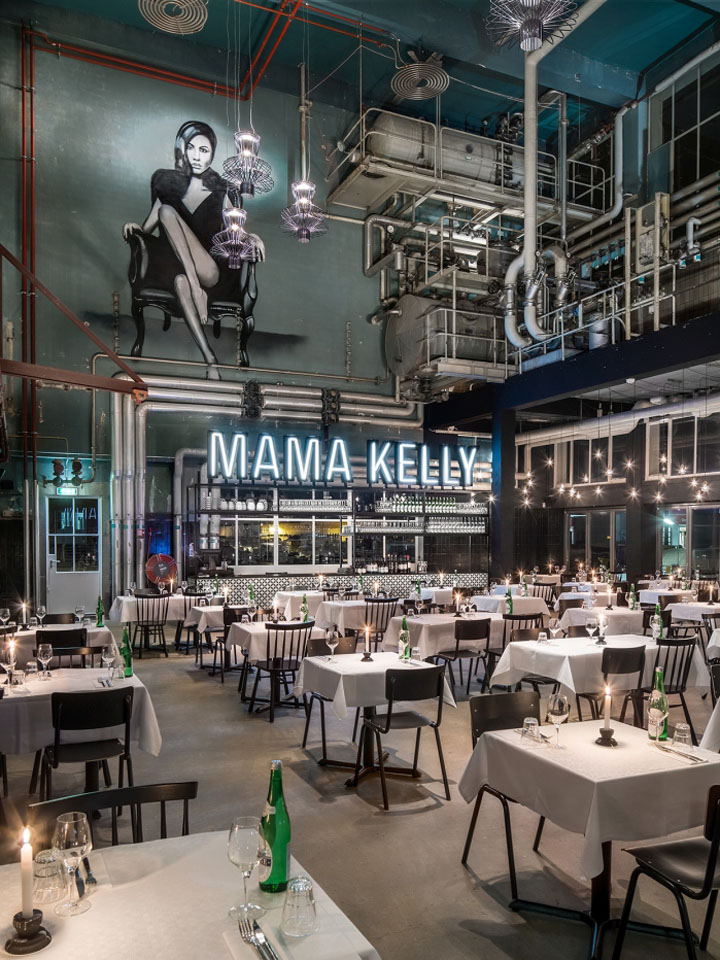 Mama kelly urban bistro restaurant by de horeca fabriek