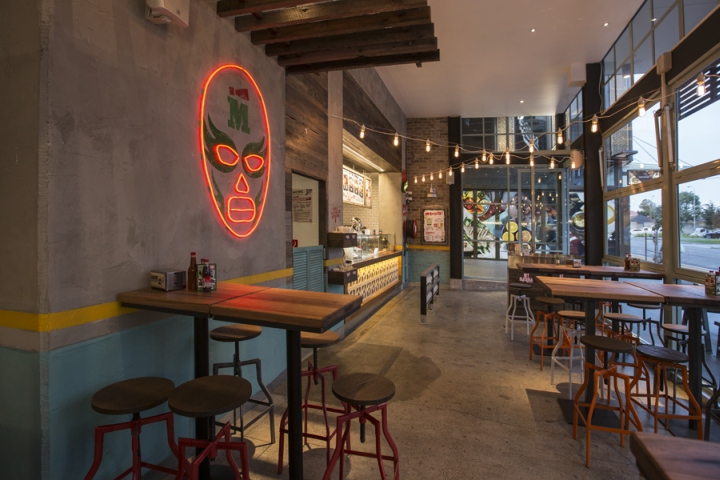 Mad mex restaurant by morris selvatico interior design