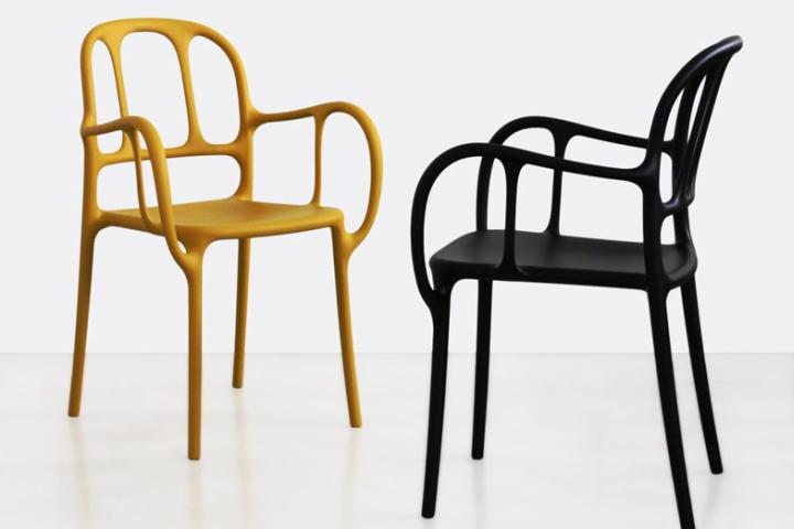 Lovely Milá Chair By Jaime Hayón For Magis