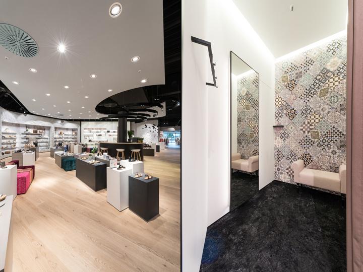 tc buckenmaier store by mai messerschmid architekten und. Black Bedroom Furniture Sets. Home Design Ideas