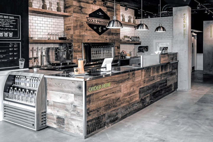 The Cold Pressery by 1POINT0 Mississauga Canada Retail Design Blog