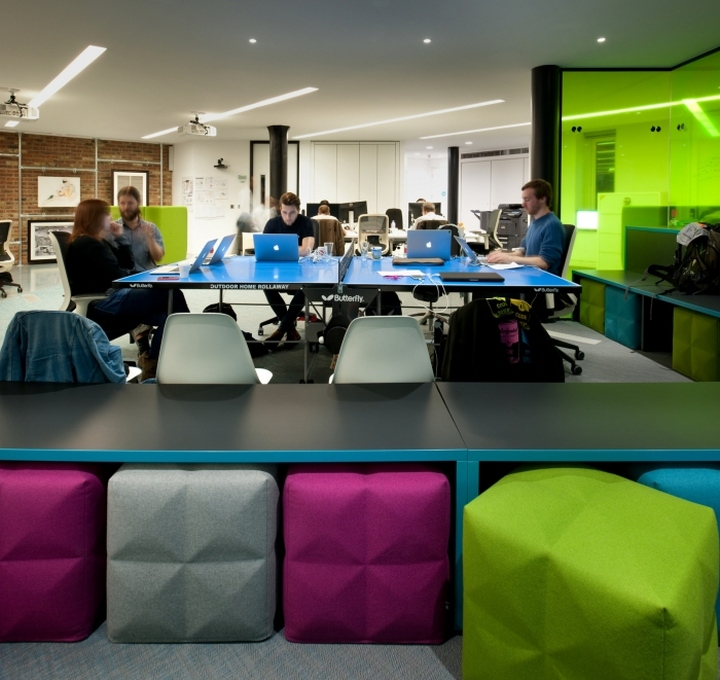 Thoughtworks offices by morgan lovell london uk retail design blog - Small office space london property ...
