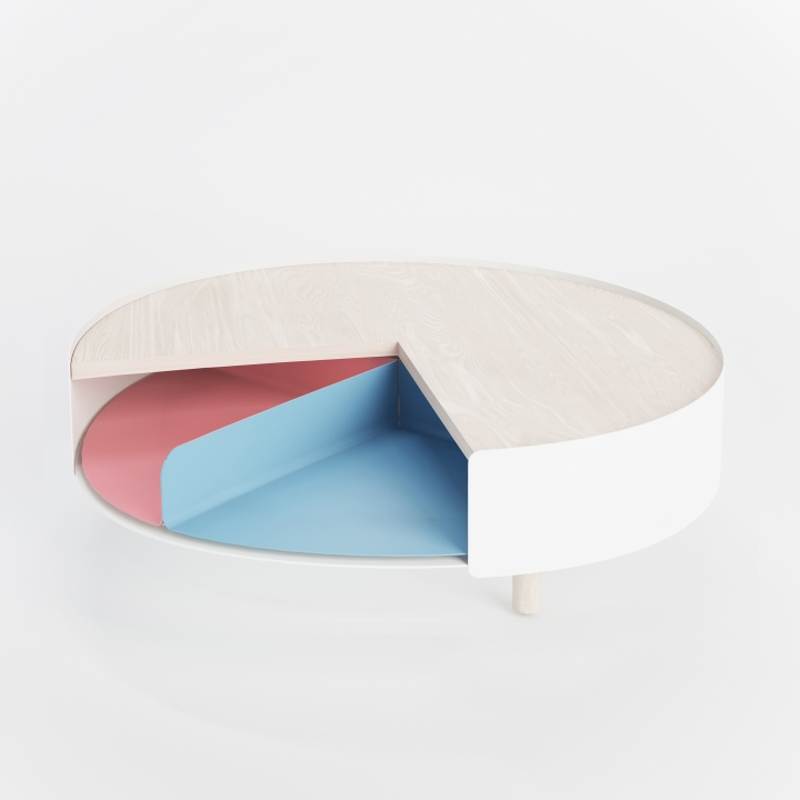 Times 4 Table By Gonçalo Campos For Polit