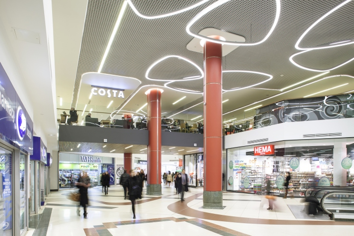 Victoria place lighting by hoare lea lighting london uk retail design blog - Iluminacion vitoria ...