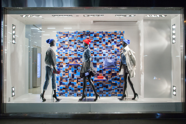 187 Armani Exchange Blue On Blue Windows By Visual Citi New