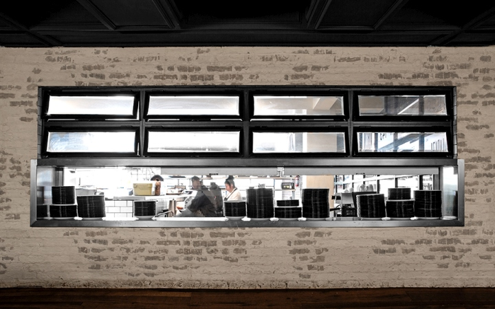 Botanero moritas restaurant interior branding by