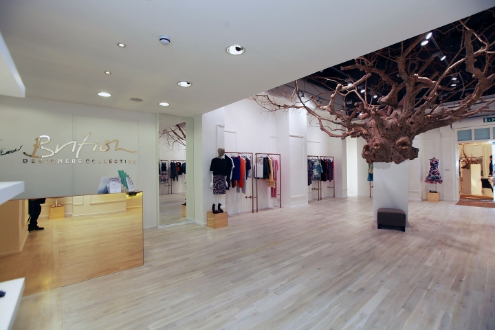 British Designers Collective Pop-up Store by Clare Ceprynski at Bicester  Village 54ad345adef