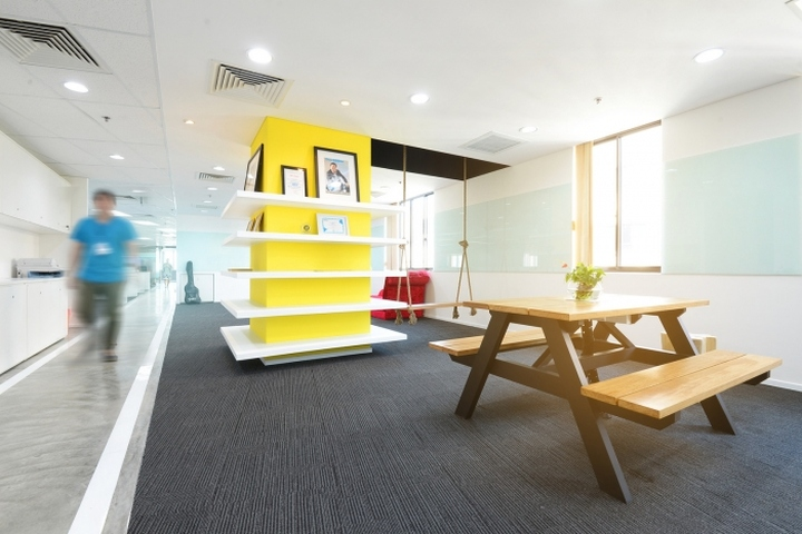Cho tot offices by adp architects ho chi minh city for Office design vietnam