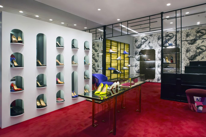 largest christian louboutin store in paris