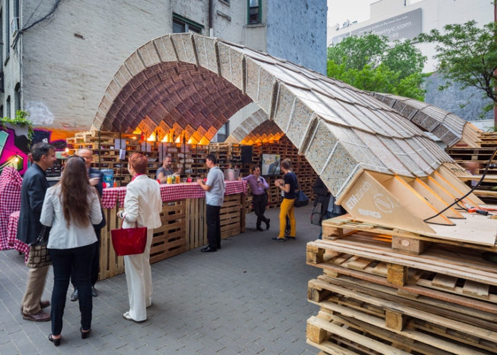 ETH Zurich Pavilion by Block Research Group at Ideas City Festival ...