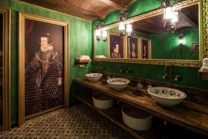 El carnicero restaurant by andrea langhi design ibiza for Fourniture restaurant