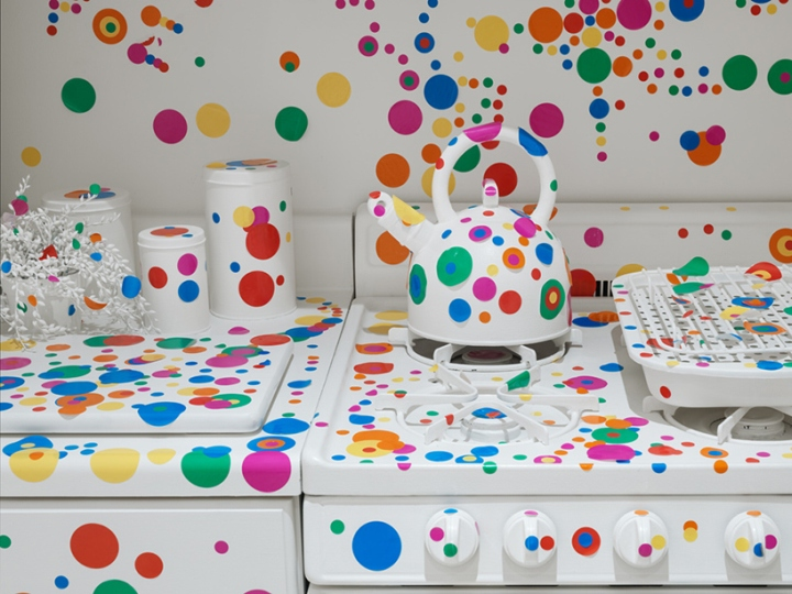 Give Me Love Exhibition by Yayoi Kusama at David Zwirner Gallery, New York City