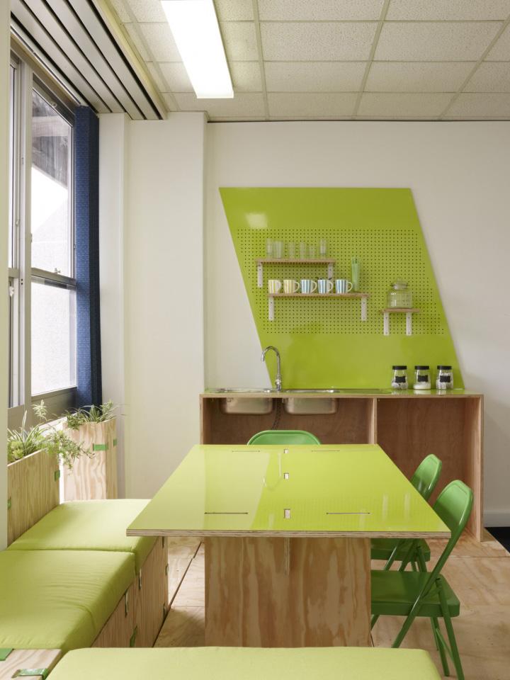 budget ceiling ideas - Groote Schuur Hospital Innovation Hub interior by Haldane