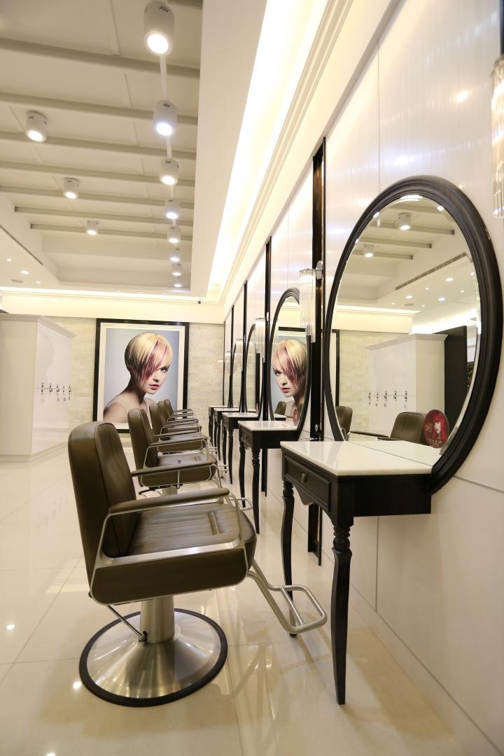 Happy Hair Salon By 90id Taiwan 187 Retail Design Blog
