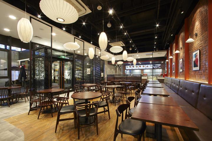 hehegu restaurant by gramco beijing china - Travertine Restaurant 2015