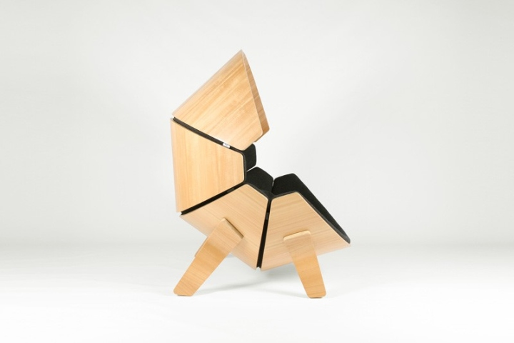 Hideaway chair by think shift retail design blog - Chaise pour bureau enfant ...