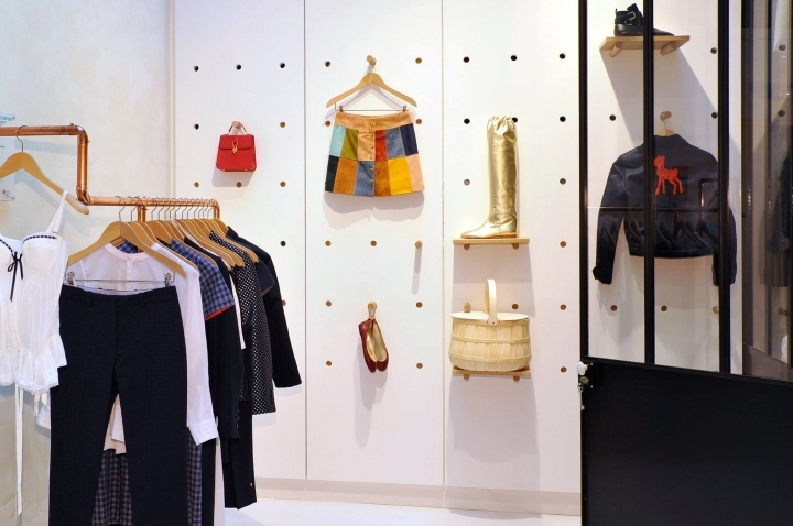 Inès de la Fressange Flagship Store, Paris – France » Retail Design Blog