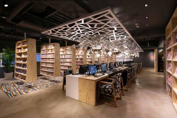 187 Internet Manga Caf 233 Amp Capsule Hotel By Fan Inc Tokyo