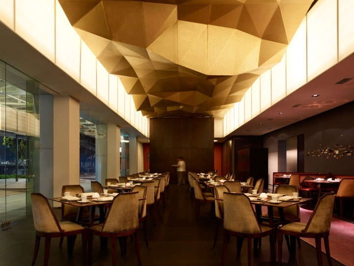 jing is a contemporary chinese restaurant located in one fullerton building at the gate of downtown singapore surrounded by iconic singaporean landmarks - Contemporary Restaurant 2015