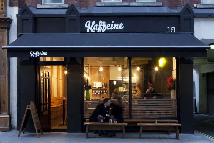 187 Kaffeine Caf 233 By Designlsm London Uk