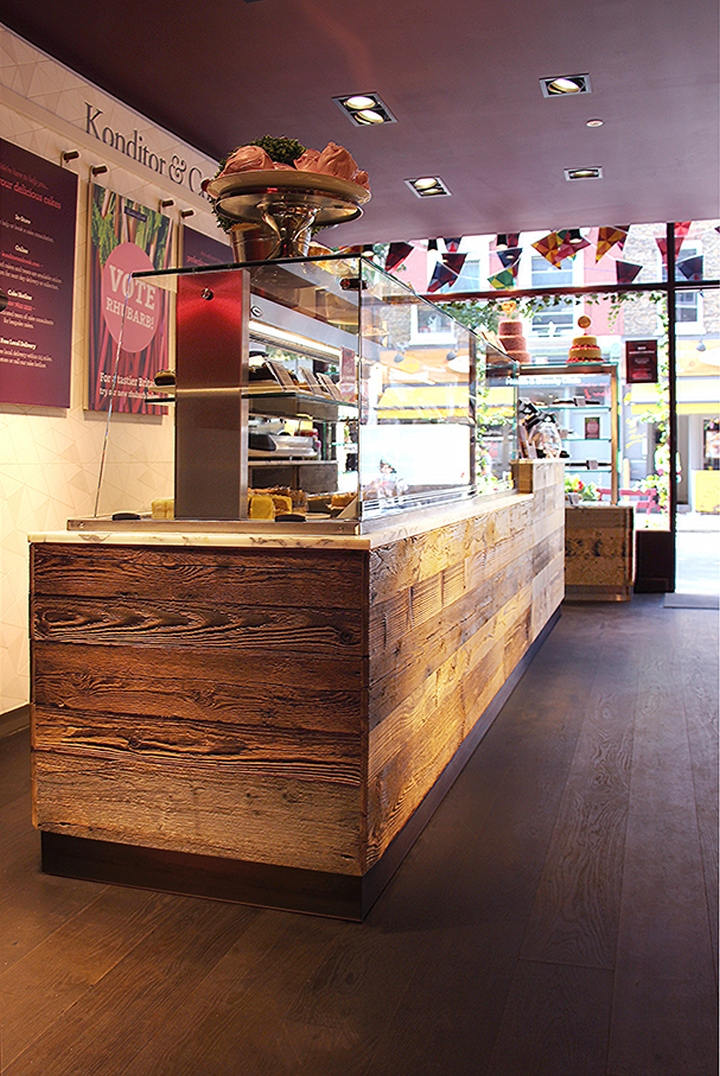 Konditor & Cook Cake Shop by Small Back Room, London – UK » Retail ...