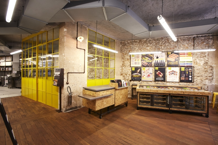 La fabrique de l clair de genie patisserie by retail access paris france retail design blog - Fabrique de tuiles en france ...
