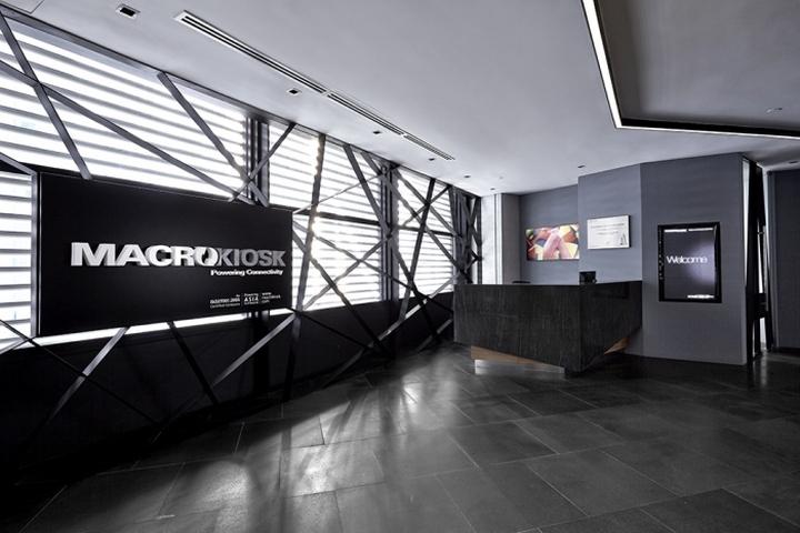Macrokiosk offices kuala lumpur malaysia retail for Kantoor interieur inspiratie