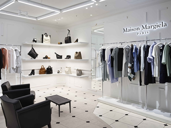 maison margiela store fukuoka japan retail design blog. Black Bedroom Furniture Sets. Home Design Ideas