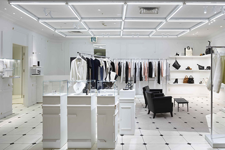 Maison Margiela Store Fukuoka Japan on classic home furniture la