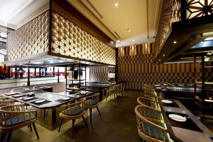 187 Maison Tatsuya Restaurant By Metaphor Interior At Kota
