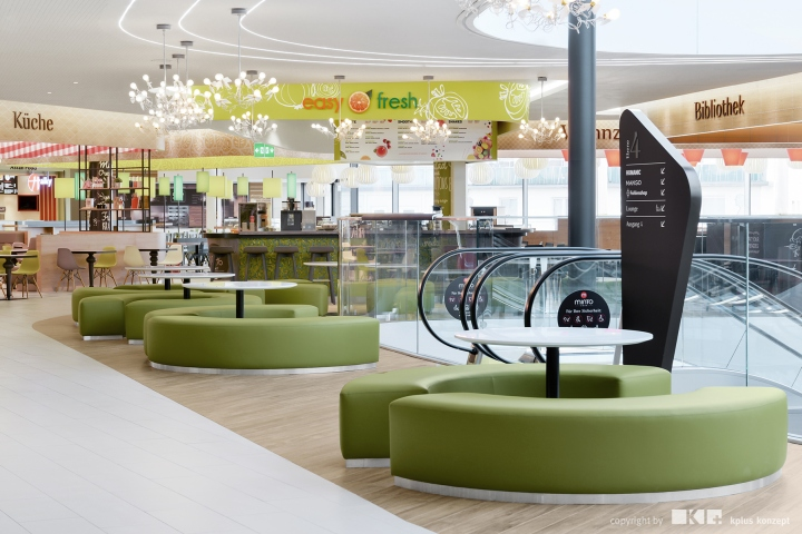 Minto Shopping Mall By Kplus Konzept Mnchengladbach