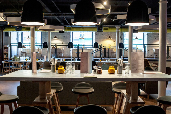 Ply bar creative space by instruct studio manchester uk - Bar cuisine studio ...