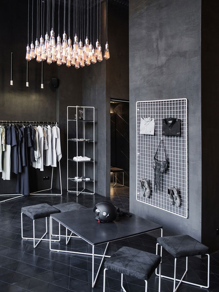 Stock Room Design: » Podolyan Store By Fild, Kiev