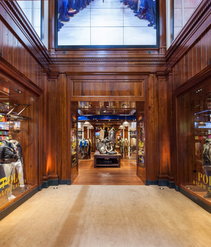 Polo ralph lauren flagship store by hs2 architecture at for Ralph lauren flagship store nyc