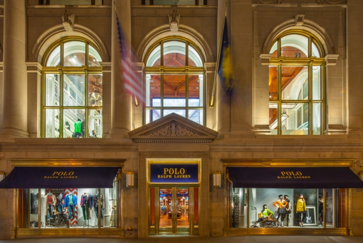 Polo ralph lauren flagship store by hs2 architecture at for Ralph lauren 5th ave nyc