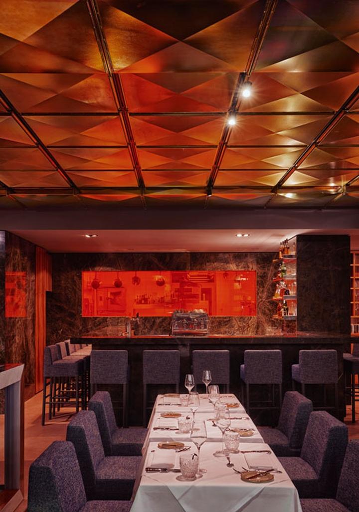 stanley diamond restaurant by paul bauer hollin radoske e15 frankfurt germany retail. Black Bedroom Furniture Sets. Home Design Ideas