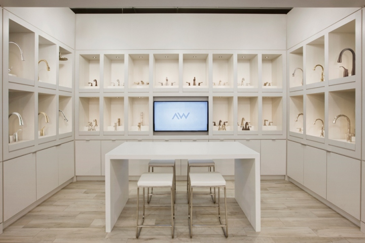 The Studio By Ashton Woods Showroom By Cecconi Simone Inc