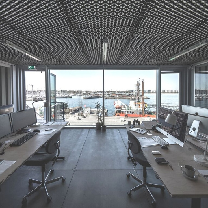 » Unionkul Temporary Office By Arcgency, Copenhagen