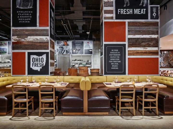 Design  Dash Design Photography  Frank Oudeman. Urban Farmer Cleveland Restaurant by Dash Design  Cleveland   Ohio