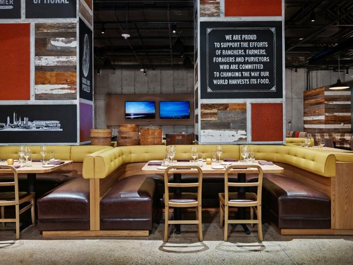via A R E  Design Awards. Urban Farmer Cleveland Restaurant by Dash Design  Cleveland   Ohio