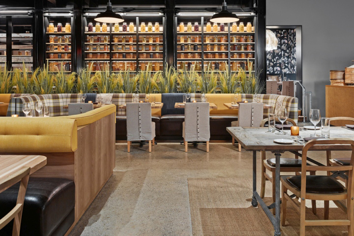 Urban Farmer Cleveland Restaurant By Dash Design Cleveland Ohio