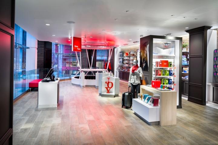 Verizon Chicago Destination Store By Chute Gerdeman Illinois